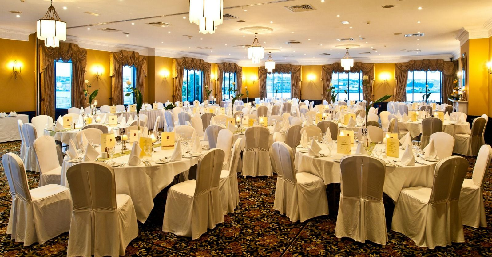 Grand Ballroom Wedding Layout